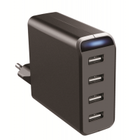 4.8A AC/DC USB Charger with 4 USB Outlets
